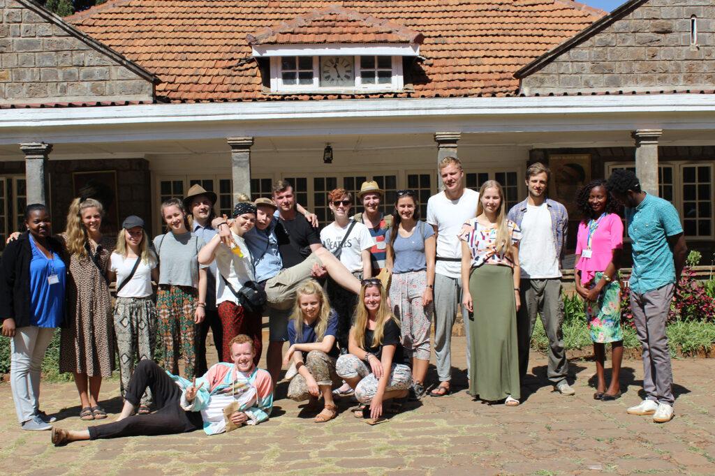 Når vi  er i Kenya skal vi også besøge Karen Blixens farm.