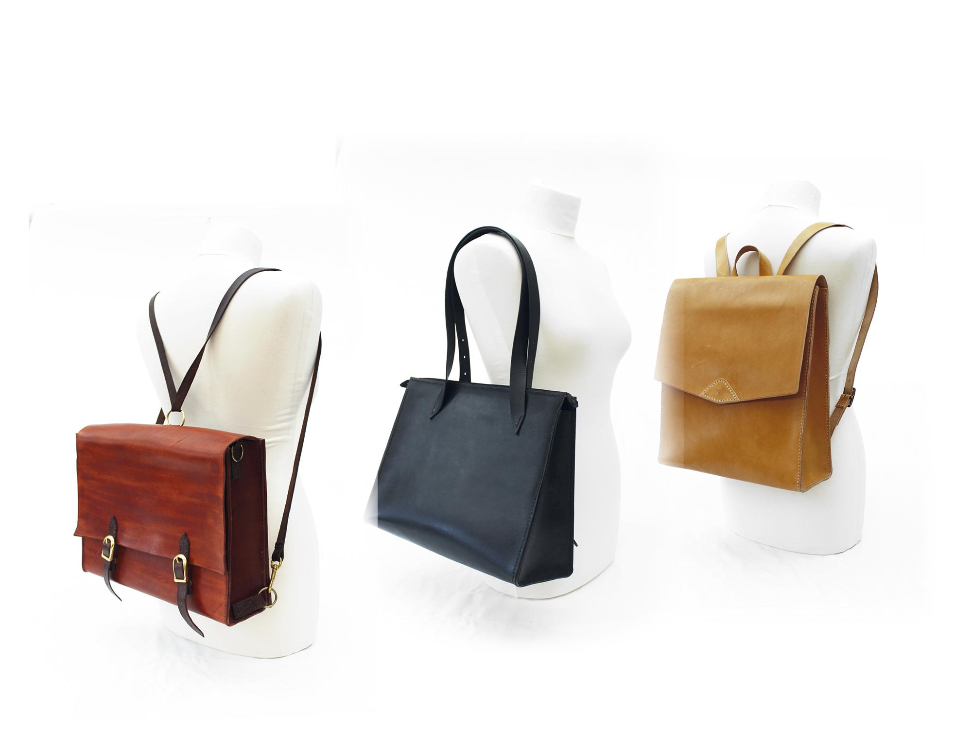 Det er altid populært at lave tasker i læder.