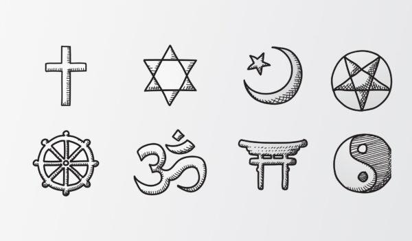 Der er mange religioner i verden. Vi skal blive klogere på deres forskelle i faget religion.